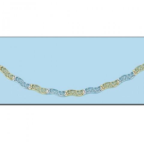 COLLAR ORO PERLAS - Medida 50 cm