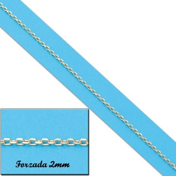 CADENA FORZADA ORO 2MM - 60cm