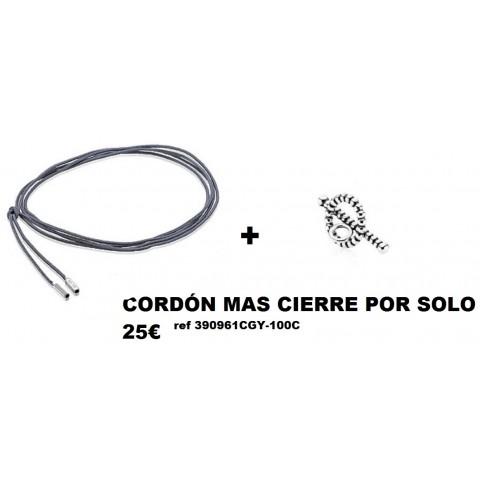 CORDÓN+CIERRE 390961CGY-100C