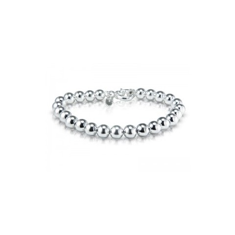 PULSERA BOLAS 5MM PLATA PD/230