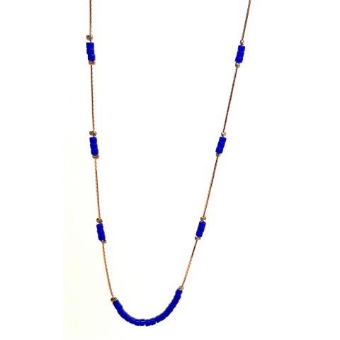 Choker azul CZ04520LTRG