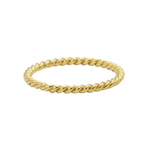 Anillo chapado oro WA0187-16
