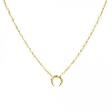 Gargantilla chapada oro WA0168