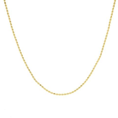 Gargantilla chapada oro WA0158