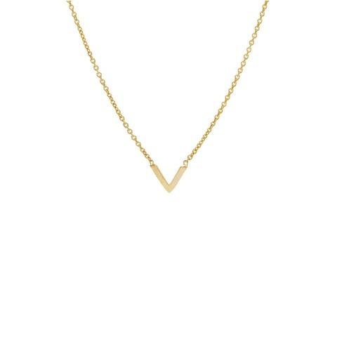 Gargantilla chapada oro WA0179
