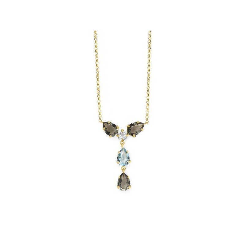 COLGANTE LOUIS DIAMOND ORO A3624-3DG