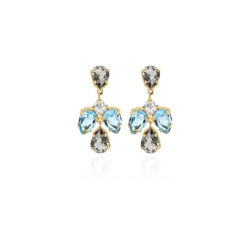 PENDIENTES LOUIS DIAMOND A3621-3DT