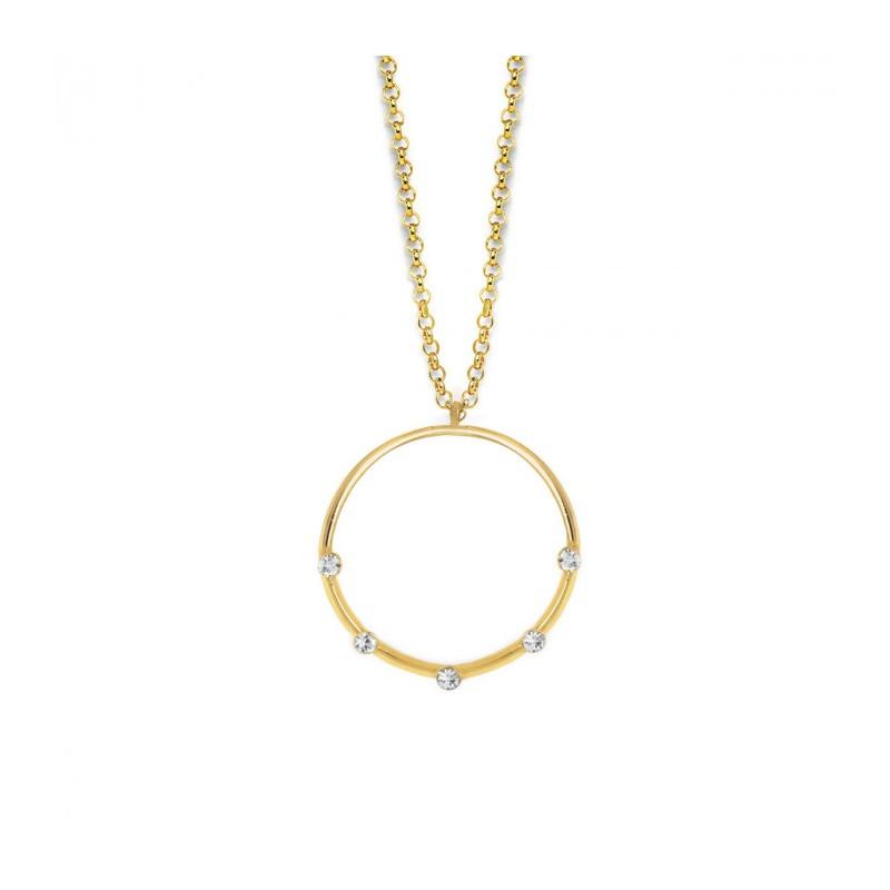 Collar Iris Crystal - Oro V.C