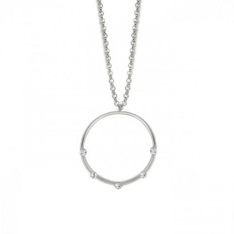 Collar Iris Crystal - Plata V.C